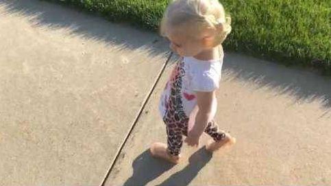 Una niña se vuelve loca con su sombra: ¡Vete de aquí!