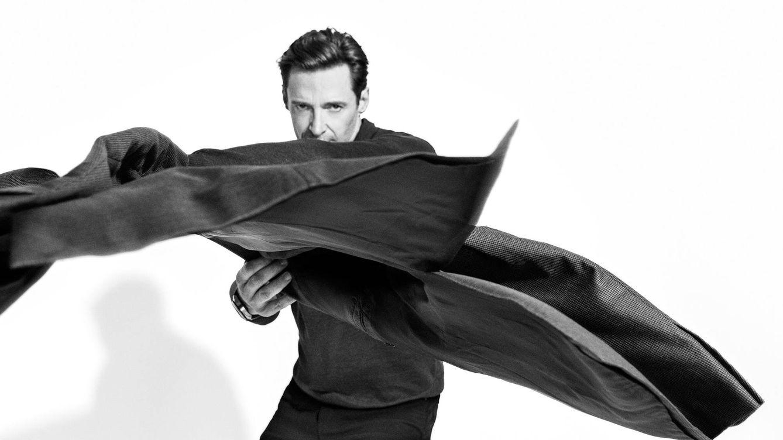 Hugh Jackman, portada de Gentleman. Soy un libro abierto, como persona y también como actor