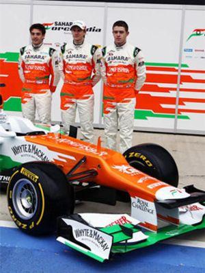 Force India presenta el VJM05 en Silverstone