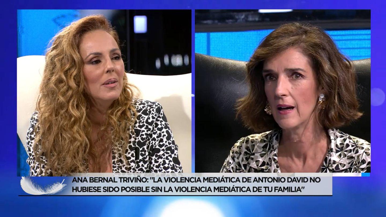 Rocío Carrasco y Paloma García Pelayo. (Mediaset/ECTV)