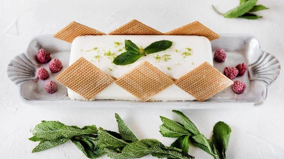 Foto: Tarta helada en capas. (Snaps Fotografía)