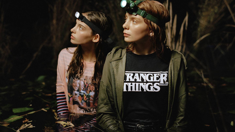Stranger Things x Pull and Bear. (Cortesía)