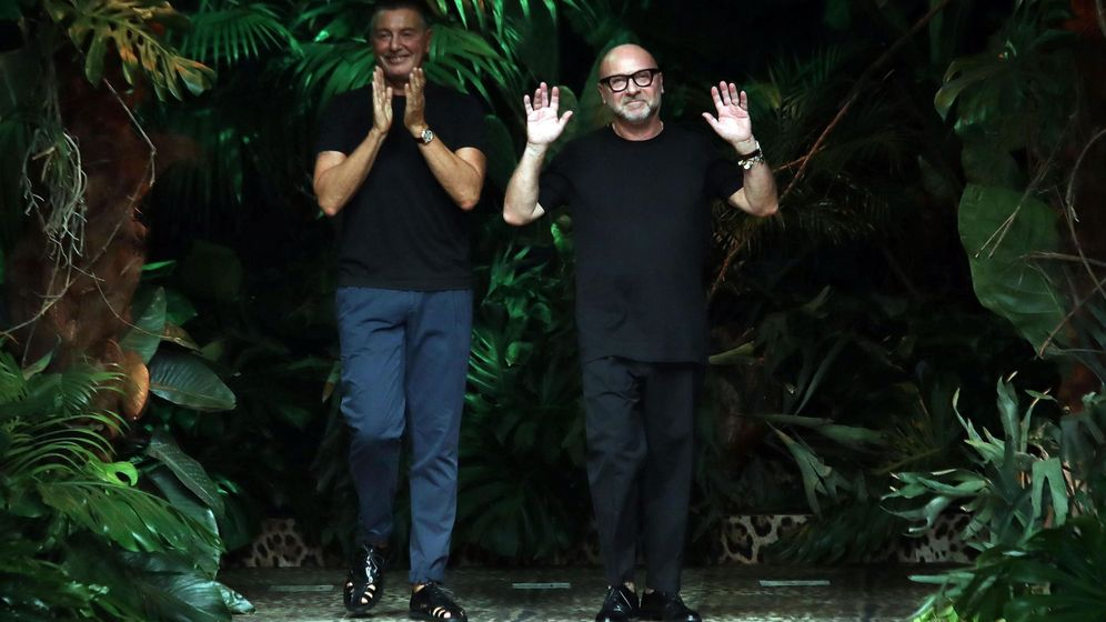 Foto: Stefano Gabbana y Domenico Dolce. (EFE)