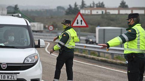 Normalidad en las salidas de Madrid y Barcelona en la mañana de Nochebuena