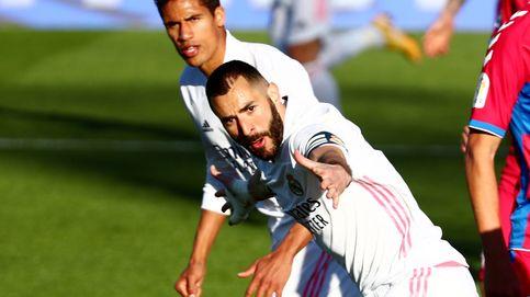 Benzema rescata al Madrid con otra genialidad en el minuto 90 (2-1)