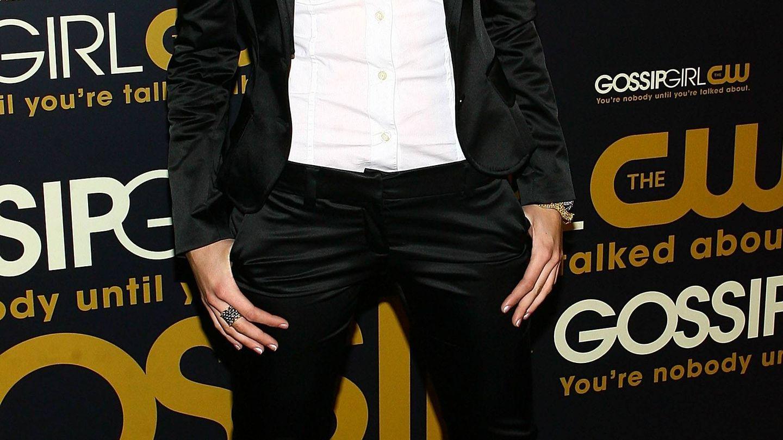 Blake Lively, en una fiesta celebrada en Nueva York en 2007. (Getty)