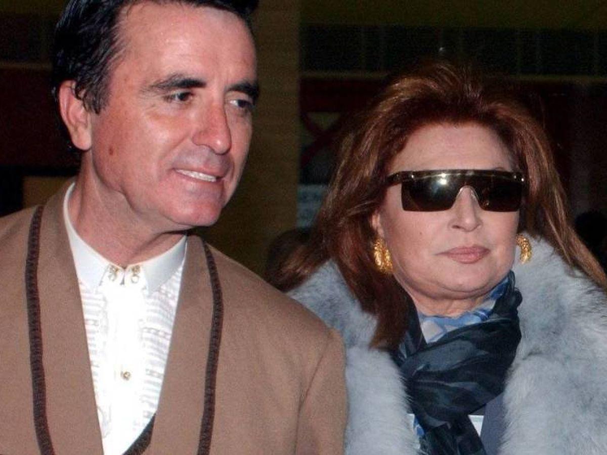Foto: José Ortega Cano y Rocío Jurado, en una imagen de archivo. (CP)