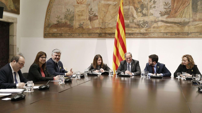La nueva reunión preparativa del diálogo para la crisis catalana acaba en otro fiasco