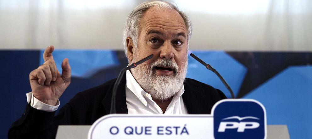 Foto: El cabeza de lista del PP a las elecciones europeas, Miguel Arias Cañete. (EFE)