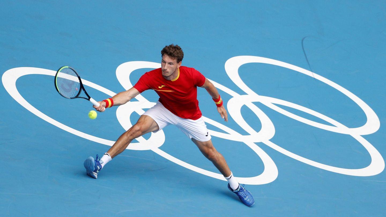 Pablo Carreño, en las semifinales contra Kachanov. (EFE)