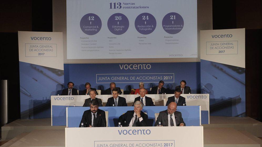 Foto: Junta de accionistas de Vocento 2017.