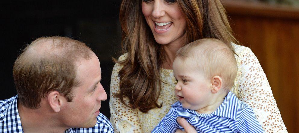 Foto: Los Duques de Cambridge con George (Gtres)