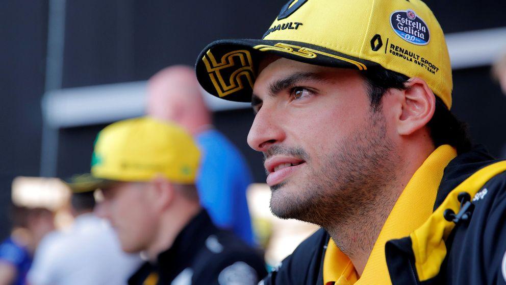 Sainz desdice a Verstappen el día anterior a que un ruso le caliente su asiento en Renault