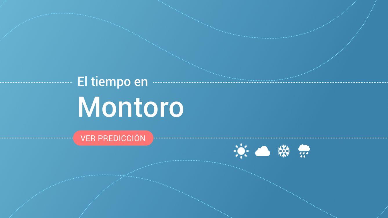 El tiempo en Montoro: previsión meteorológica de hoy, sábado 19 de octubre