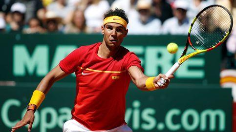 Nadal arrasa a Bedene en la primera ronda del Masters de Montecarlo