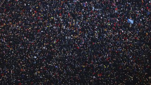 Seúl toma la calle en contra de su presidenta