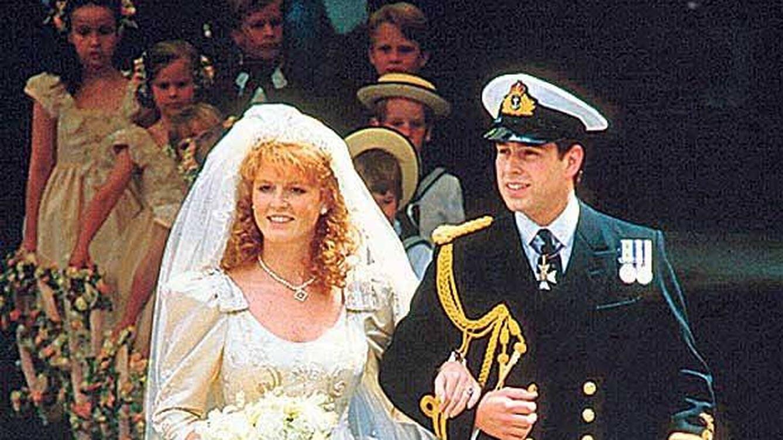 Resultado de imagen para Sarah Ferguson y andres boda