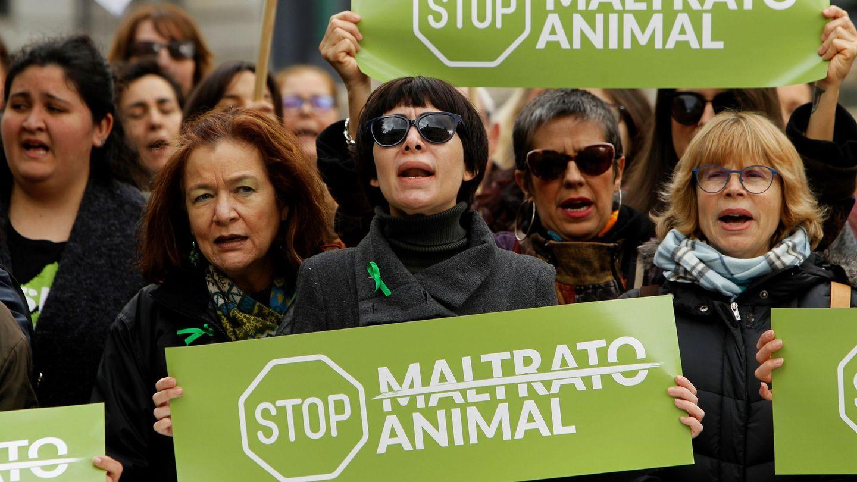 Manifestación de PACMA contra el maltrato animal. (EFE)