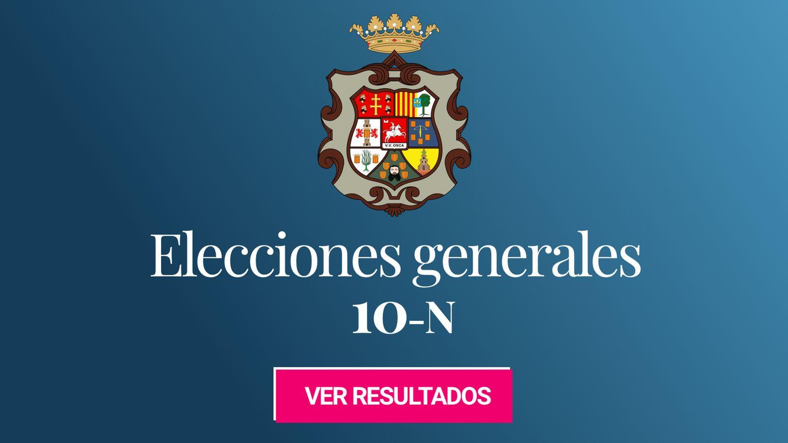 Foto: Elecciones generales 2019 en la provincia de Huesca. (C.C./Willtron)