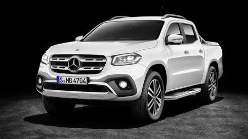 Mercedes completa su gama comercial con un pick-up, la Clase X