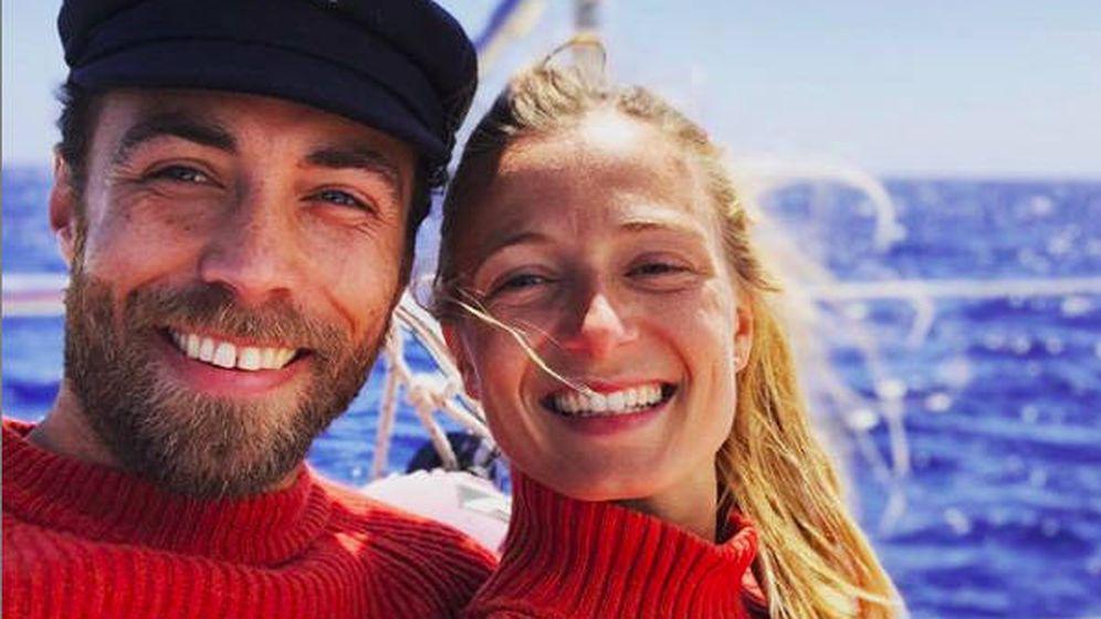 Foto: James Middleton y su novia, Alize Thevenet. (Redes Sociales)