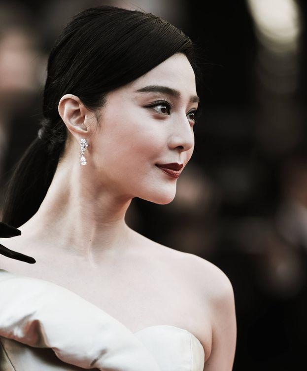 Foto: La actriz china Fan Bingbing, en el Festival de Cine de Cannes. (Getty)