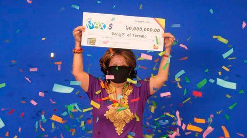 Gana 40 millones a la lotería después de un curioso sueño de su marido