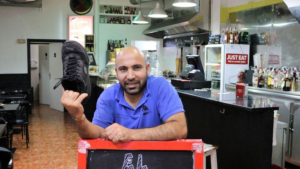 Tiró un zapato (a Erdogan) y montó un restaurante (tras ir a prisión)