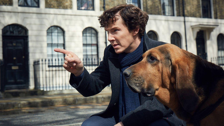 Imagen del primer episodio de la cuarta temporada de 'Sherlock'