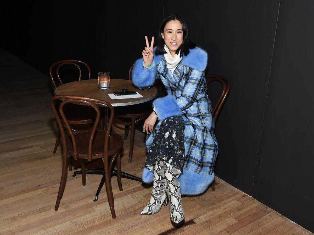 Foto: Eva Chen, en la Semana de la Moda de Nueva York. (Getty)