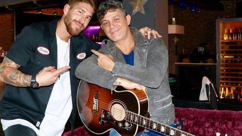 El obsequio de 5.000 euros de Alejandro Sanz a Sergio Ramos