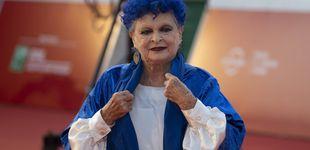 Post de Este es el motivo por el que Lucía Bosé llevaba el pelo azul