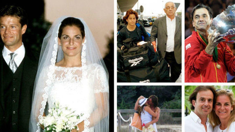 Así ha sido la relación de amor-odio entre Arantxa Sánchez Vicario y sus padres.