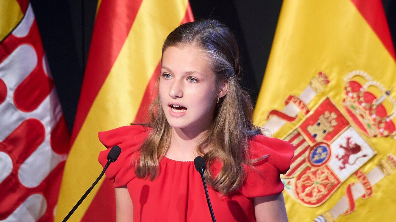 La princesa Leonor, en los Premios Princesa de Girona. (Limited Pictures)