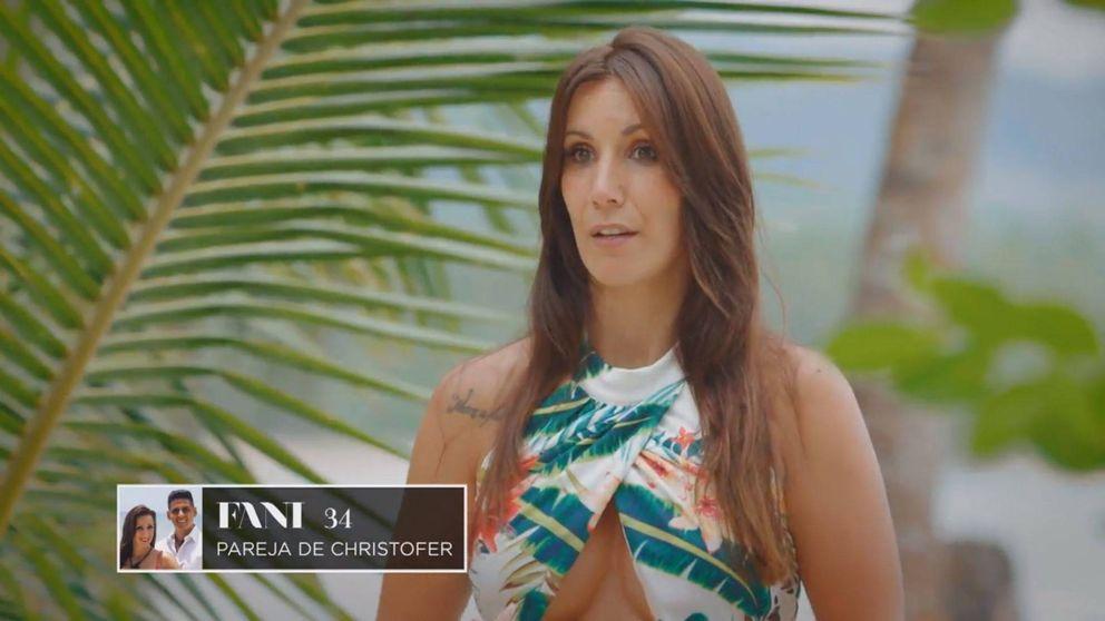 'La isla de las tentaciones'   Fani rompe su silencio tras serle infiel a Christofer