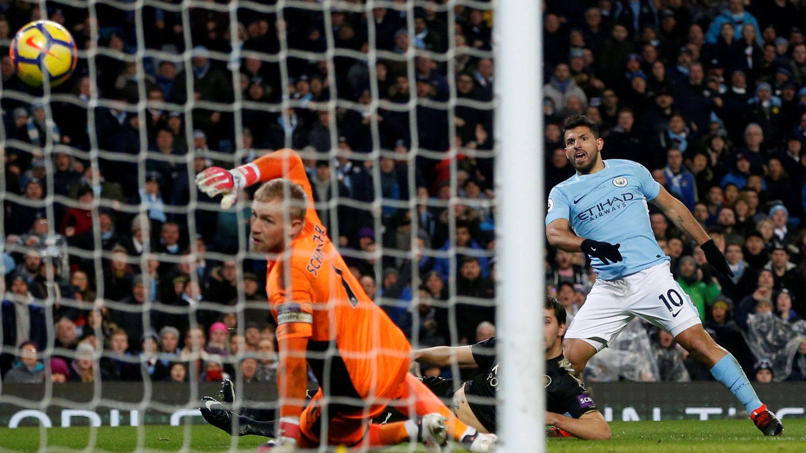 Foto: El Kun Agüero ha marcado 21 goles esta temporada. (Reuters)