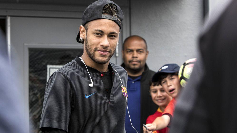Foto: El fichaje de Neymar revienta el mercado (EFE)