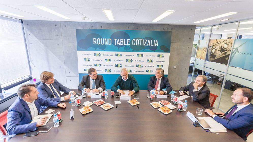Foto: Imagen de los participantes de la XIV Round Table de Cotizalia con M&G Investments.