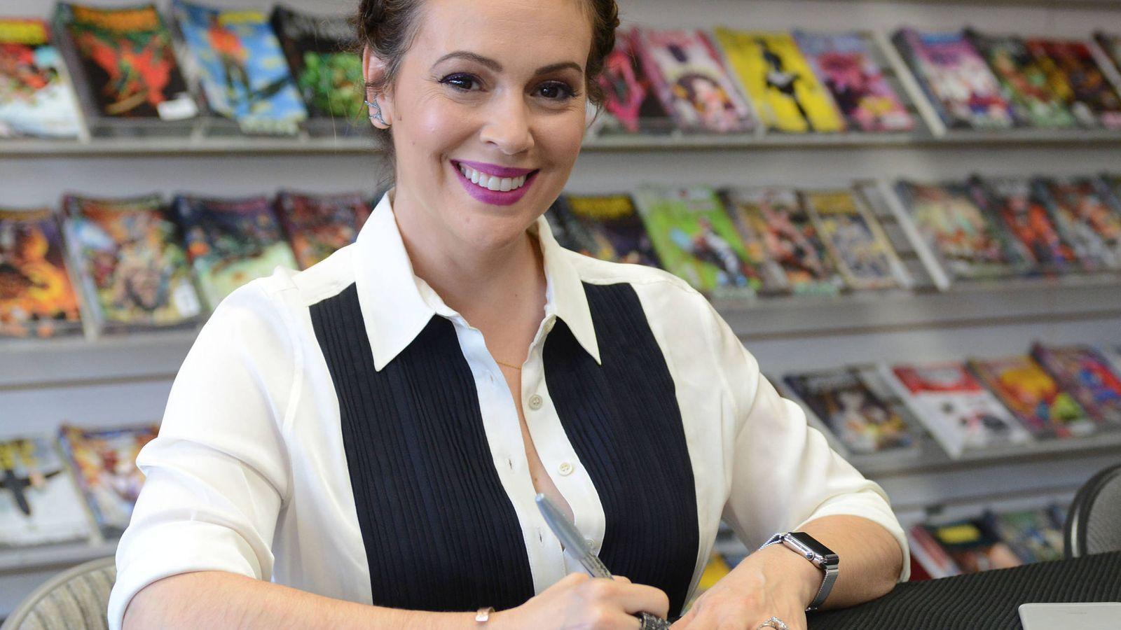 Foto: La actriz Alyssa Milano en una imagen de archivo. (Gtres)