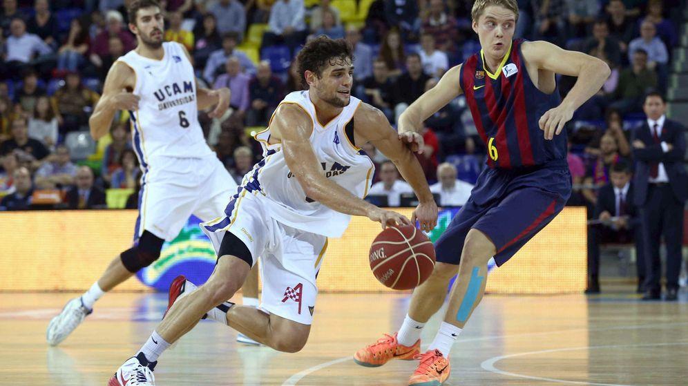 Foto: El Barcelona fue muy superior al UCAM (EFE)
