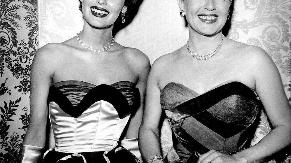 Foto: Ava Gardner y Lana Turner en una foto de archivo.