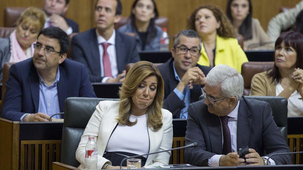 Susana Díaz encaja su tercera derrota y amenaza con nuevas elecciones