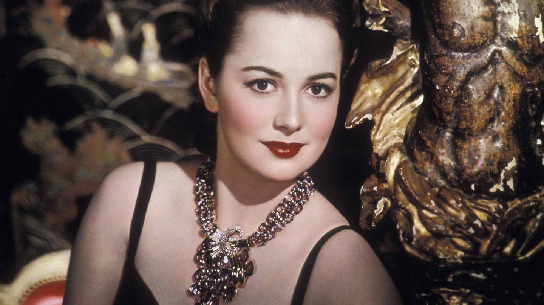 Olivia de Havilland, en una imagen de estudio. (Cordon Press)
