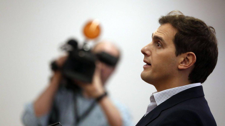 Foto: Albert Rivera, en una rueda de prensa. (EFE)