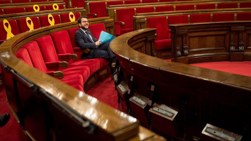 Foto: Escaños en el Parlament. (EFE)