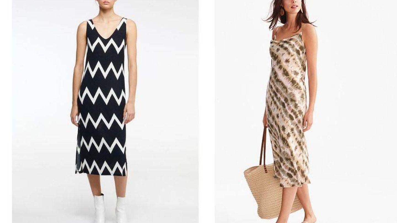 Los prints más arriesgados tiñen los nuevos vestidos.