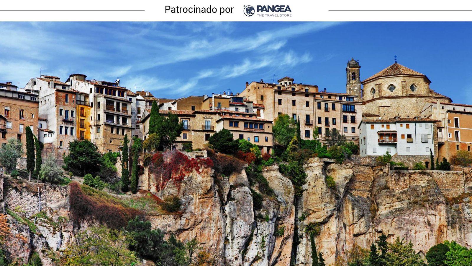Foto: Las casas colgadas de Cuenca. (Shutterstock)