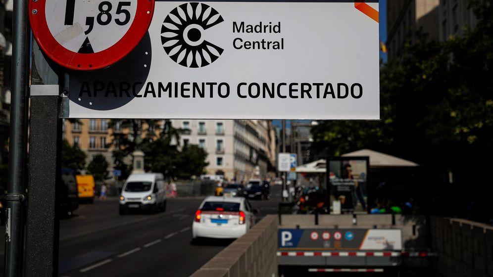 Foto: Madrid Central. (EFE)