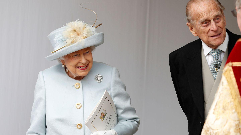 La reina Isabel y el duque de Edimburgo, en una imagen reciente. (Reuters)