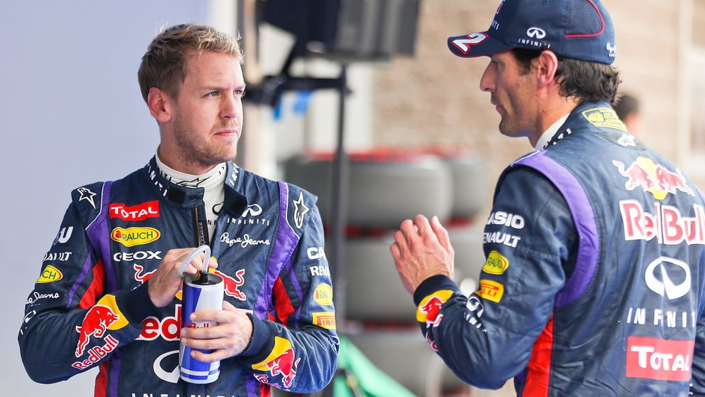 Vettel-Webber: Querían mantenerle contento porque yo era un viejo zorro